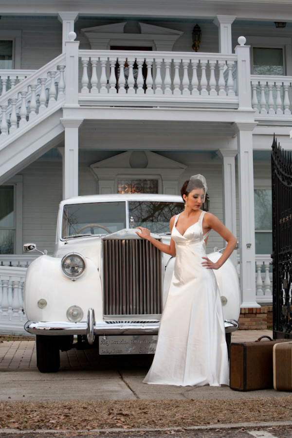Vintage Southern Bride - Michael Allen Photography Memphis Wedding Photographer